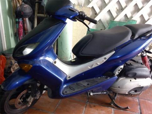 Xe ga Yamaha nang gam tu dong