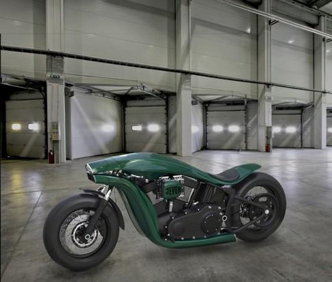 Ý tưởng thiết kế siêu dị của mẫu xe Harley-Davidson trong tương lai