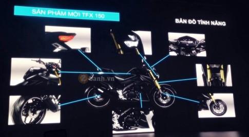 Yamaha TFX150: Clip ra mat va gioi thieu cac tinh nang cua xe