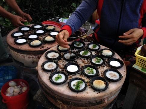 Banh can - mon an phai thu o Ninh Thuan