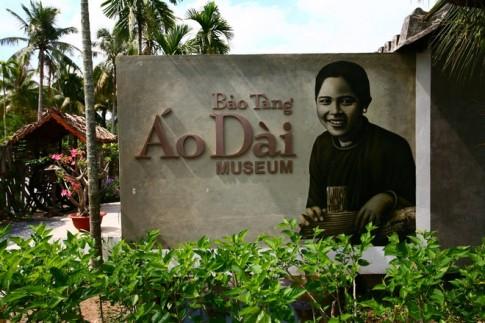 Bảo tàng áo dài tư nhân duy nhất ở Sài Gòn