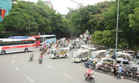 Ha Noi se thi diem tuyen pho di bo quanh Ho Guom
