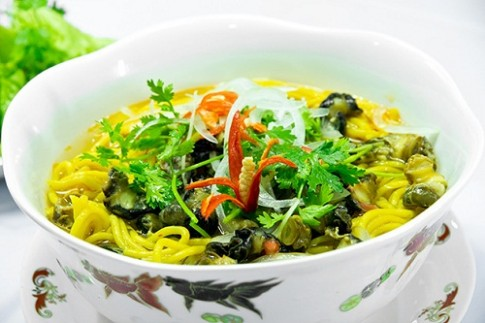 Món bún làm từ bắp chỉ có ở Phú Yên