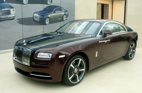 Ngoai that Rolls-Royce Wraith