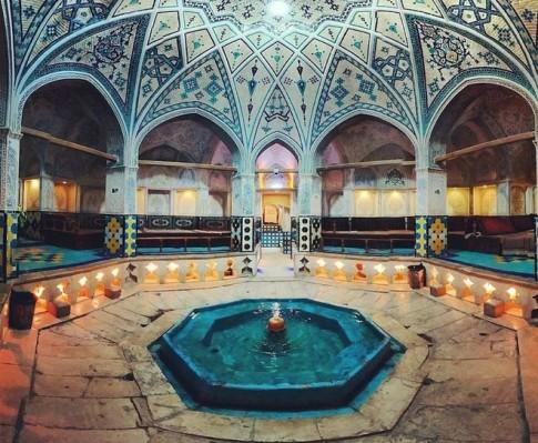 Nhà tắm công cộng tráng lệ nhất Iran