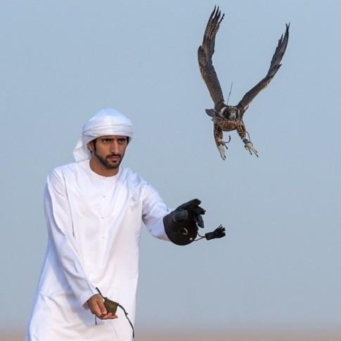 Những thú vui thời thượng của hoàng tử Dubai