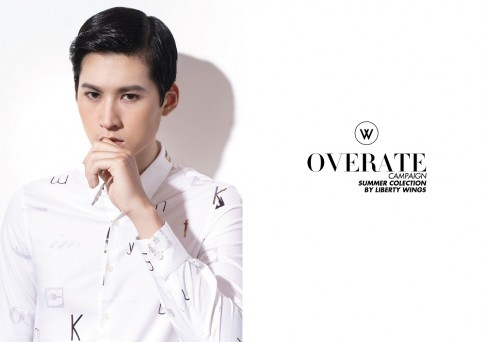 Overate Shirt Campaign bo suu tap so mi cua Liberty Wings