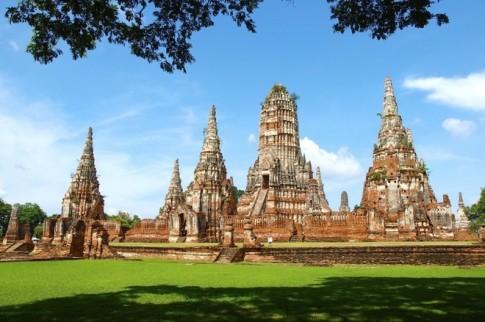 Que huong tuong Phat khong dau o Thai Lan