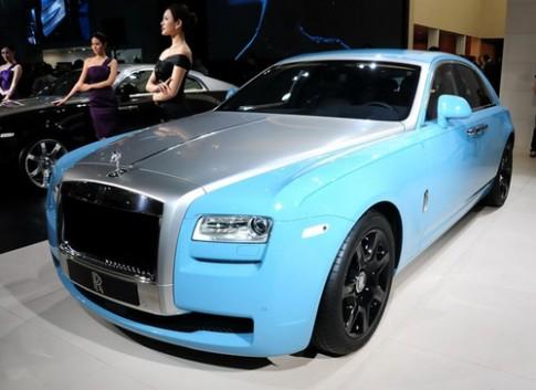 Rolls-Royce Ghost Alpine Trial Centenary