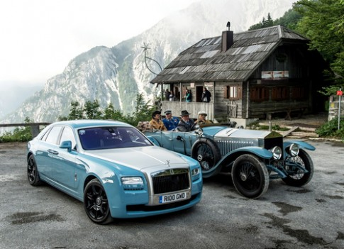 Rolls-Royce Ghost Alpine Trial - 'Con ma' phien ban the ky