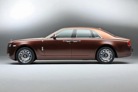 Rolls-Royce Ghost danh rieng cho Trung Dong