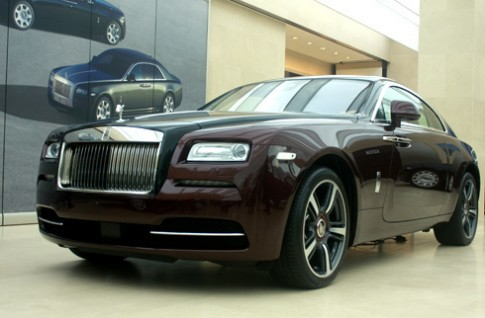 Rolls-Royce Wraith - coupe sieu sang bac nhat