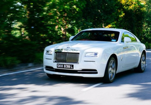 Rolls-Royce Wraith - quy ong co bap
