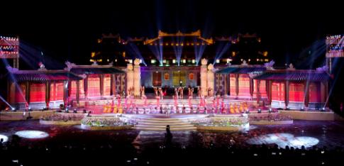Sac cam xuong pho mùng Festival Hué 2016