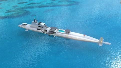 Siêu du thuyền có thể lặn sâu 240 m