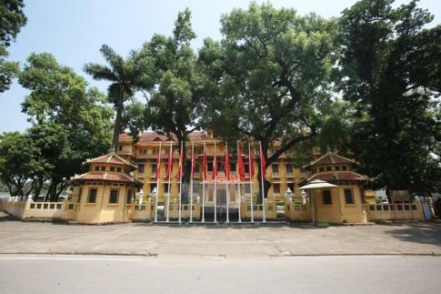 Tòa nhà trăm mái ở Hà Nội