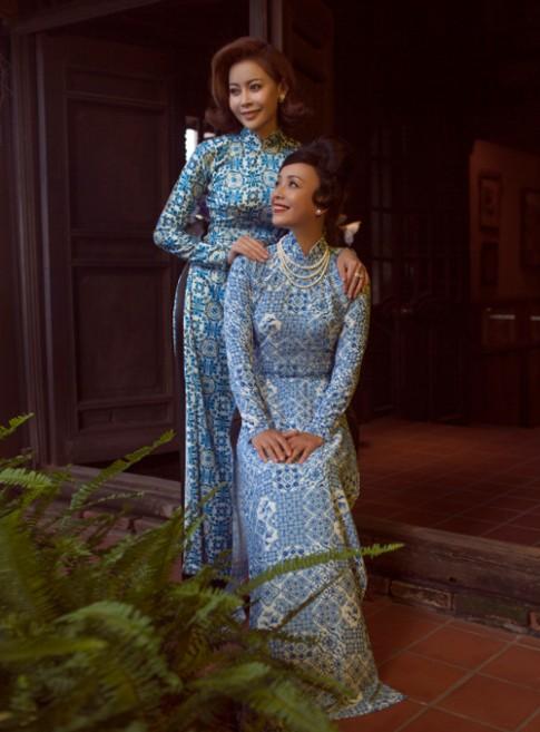Hoa hau Hai Duong dep cuon hut trong ta ao dai truyen thong