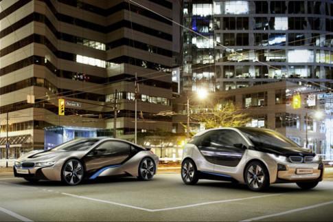 BMW chuẩn bị trình làng bộ đôi xe điện