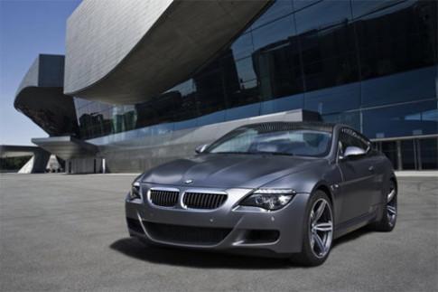 BMW kết thúc M6 hiện hành