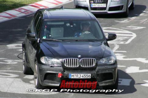 BMW thu nghiem phien ban X5 tinh nang cao