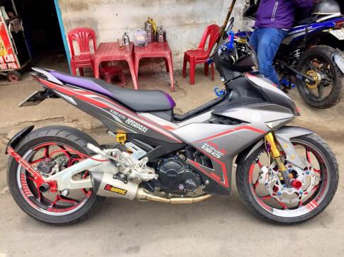 Exciter 150 len gap CBR 600RR cuc chuan