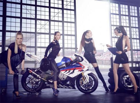 Hac y nu va BMW S1000RR