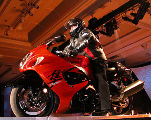 Hayabusa 2008 - siêu chiến binh của Suzuki