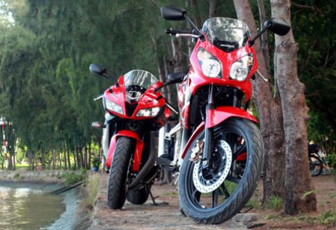 Honda CBR150R sánh vai cùng 'đàn anh' CBR600RR