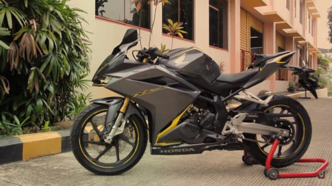 Honda CBR250RR 2017 mau xe the thao 250cc cham nguong Superbike