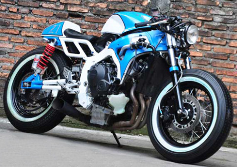 Honda CBR600RR cafe racer la lam
