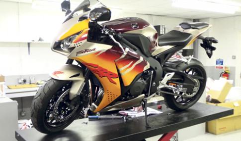 Honda hoi sinh huyen thoai Urban Tiger Fireblade