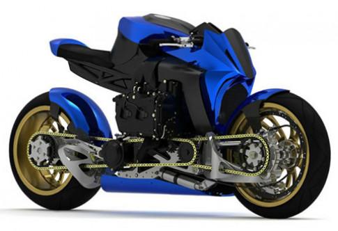Kickboxer AWD - thiết kế môtô dẫn động hai bánh