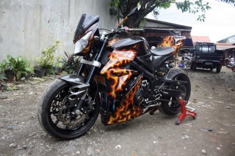 'Quai thu' Honda CBR600RR - mau do tu Indonesia