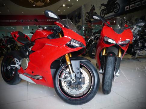 Sieu moto Ducati 1199 Panigale S ve Viet Nam