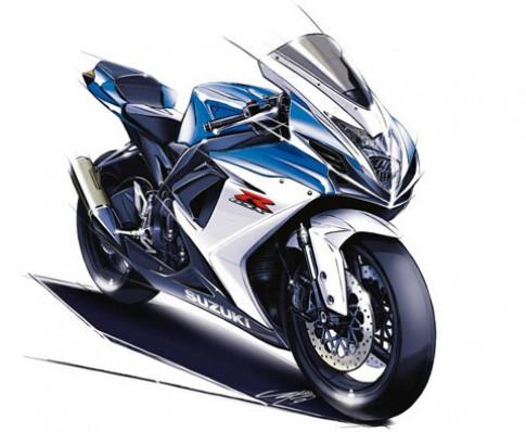 Suzuki giới thiệu GSX-R600 và GSX-R750 phiên bản 2011