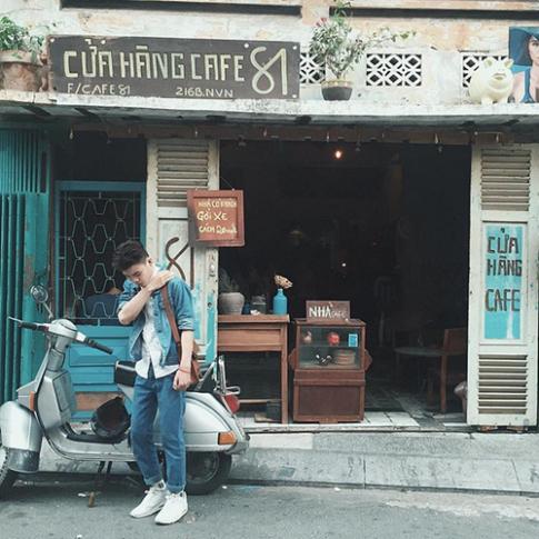 """4 quán cafe theo phong cách """"ngày bé"""" cực hot ở Sài Gòn"""