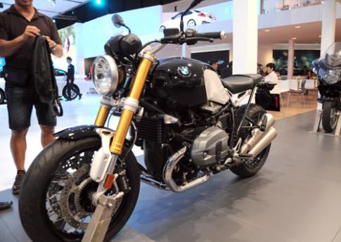 Anh BMW R nineT tai Bangkok Motor Show 2014