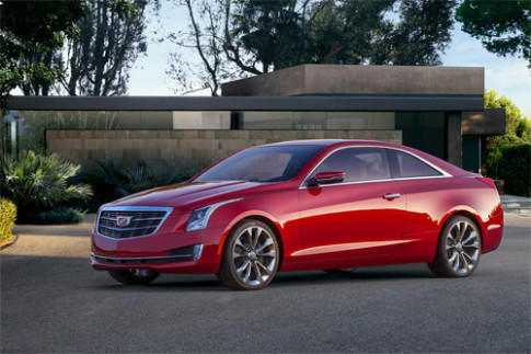 Anh Cadillac ATS coupe 2015