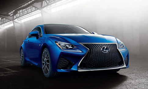 Anh Lexus RC F the he moi