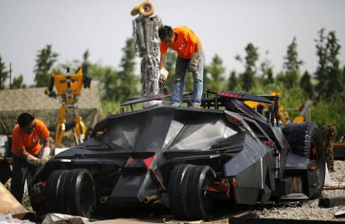Ban sao sieu xe Batman tai Trung Quoc