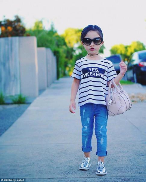 Bé gái mới 3 tuổi mà mix đồ đẹp đến mức ai cũng phải tấm tắc khen ngợi