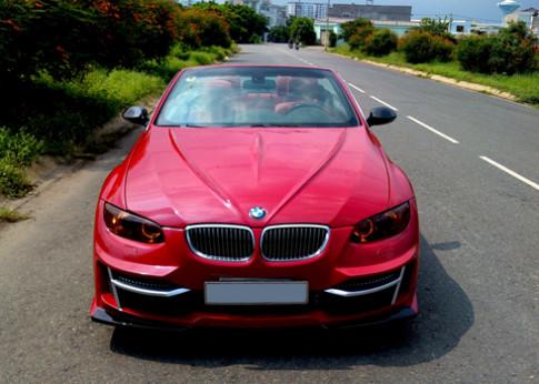 BMW 335i mui tran do cua tho Sai Gon