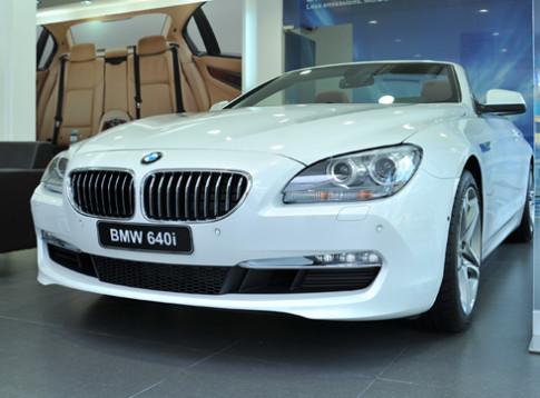 BMW 640i convertible có giá gần 4,1 tỷ đồng