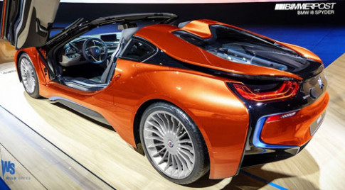 BMW bật đèn xanh sản xuất i8 Spyder