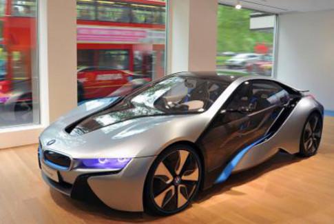 BMW chuan bi ban i3 va i8