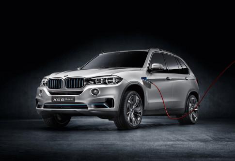 BMW gioi thieu X5 hybrid tai Frankfurt Motor Show