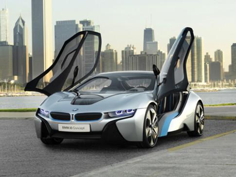 BMW i8 bán hết xe dù chưa ra mắt