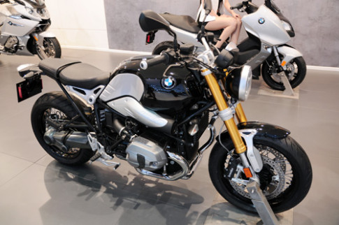 BMW R nineT trinh lang Dong Nam A