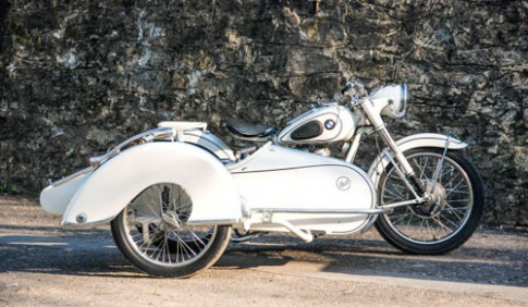 BMW R25/2 - sidecar do thanh lich