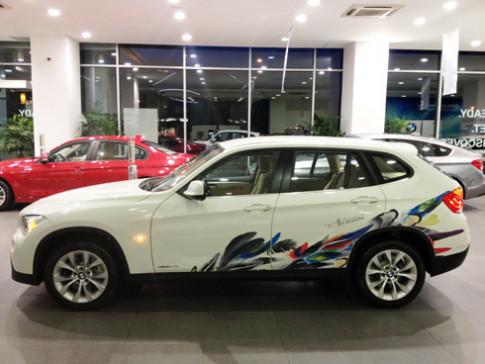 BMW ra mat phien ban X1 Art tai Viet Nam